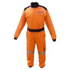 Combinaison FFSA Orange Homme
