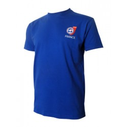 T-shirt France Homme Bleu
