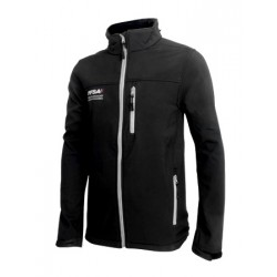 Softshell Noire Homme